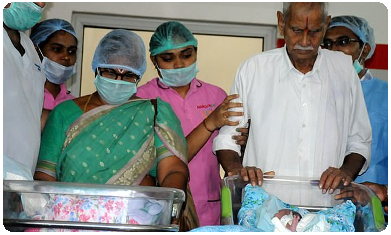 Worlds oldest Mother and her Husband in Intensive Care unit