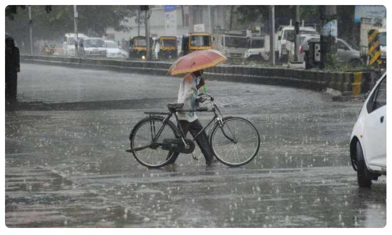 Monsoon 2019: Heavy rains to hit telugu states for two more days, అలర్ట్: తెలుగు రాష్ట్రాలకు భారీ వర్షసూచన