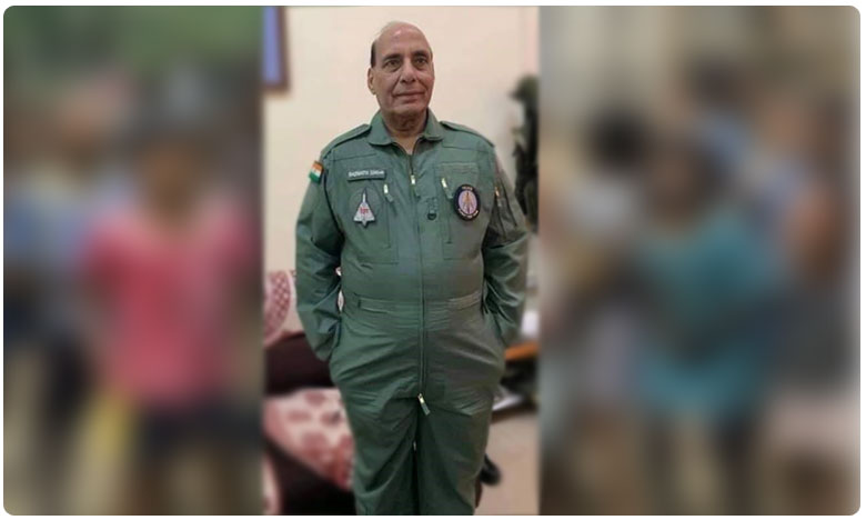 rajnath singh thrilled after tejas sortie, controlled it briefly