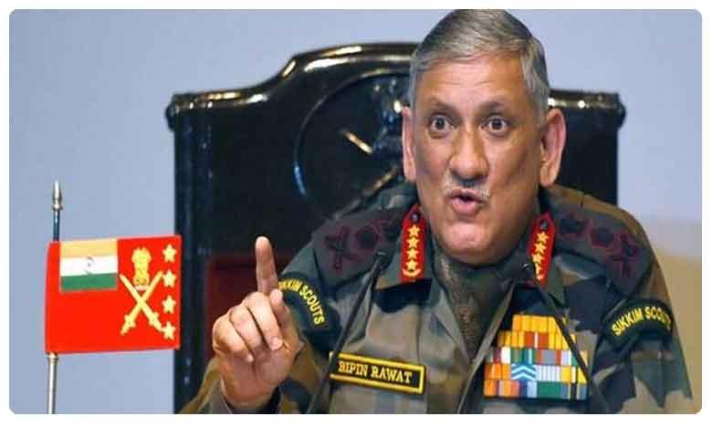 Indian Army is always ready for action in PoK: General Bipin Rawat, పీఓకే స్వాధీనానికి మేము రెడీ: ఆర్మీ చీఫ్