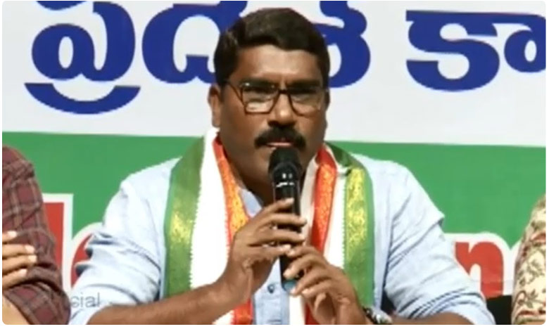 Congress leader Sampath Fires on TPCC Chief