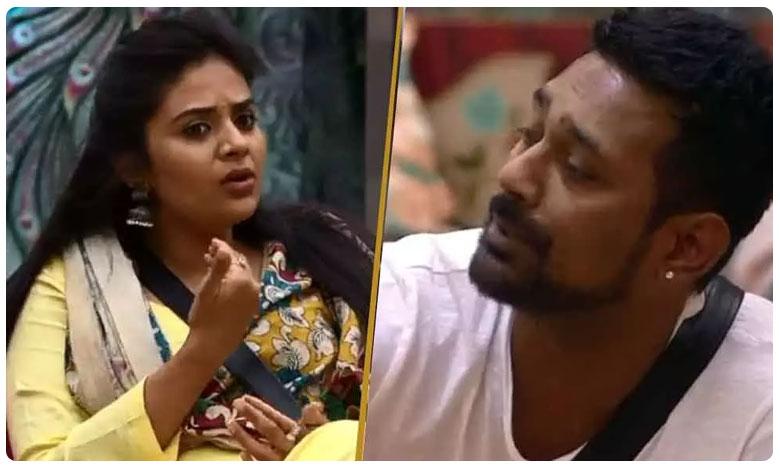 War Of Words Between Sreemukhi And Varun Sandesh In Bigg Boss House