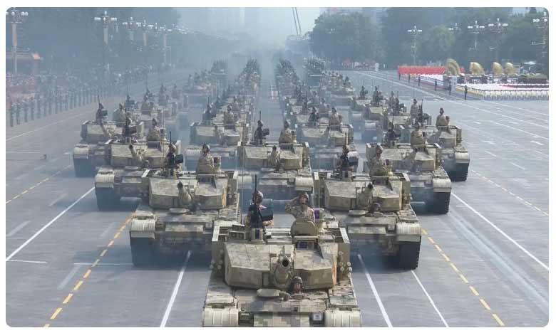 China celebrates 70th anniversary as Xi warns 'no force can shake great nation', గ్రాండ్గా చైనా నేషనల్ డే… భారీ పరేడ్తో అమెరికాకు డ్రాగన్ హెచ్చరిక!