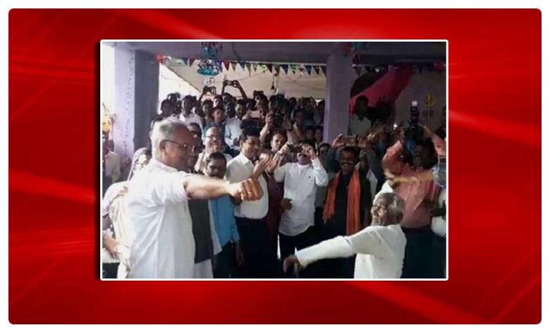 Chhattisgarh: Bhupesh Baghel takes part in Govardhan pooja, కొరడా దెబ్బలు తిన్న సీఎం..ఎందుకు?