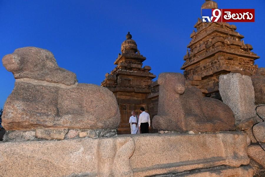 Modi Mahabalipuram Tour Gallery, మహాబలిపురంలో  మోదీతో చైనా అధ్యక్షుడు జిన్పింగ్