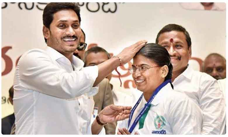 Cm Jagan Good News To Grama Volunteers, గ్రామ వాలంటీర్లకూ దసరా బొనాంజా..!