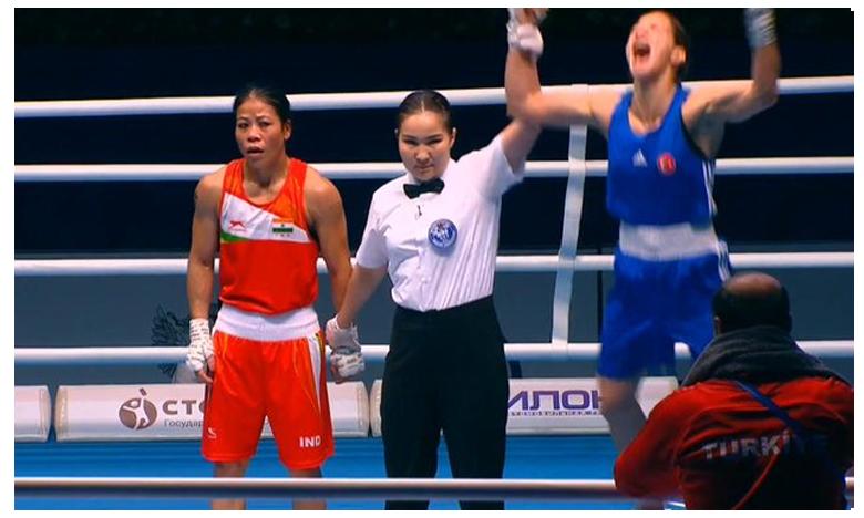 World Women's Boxing Championships: Legendary Mary Kom Signs Off With Bronze Medal, ఈసారి కాంస్యంతో సరి.. మేరీ కోమ్ కు అంపైర్ షాక్ !