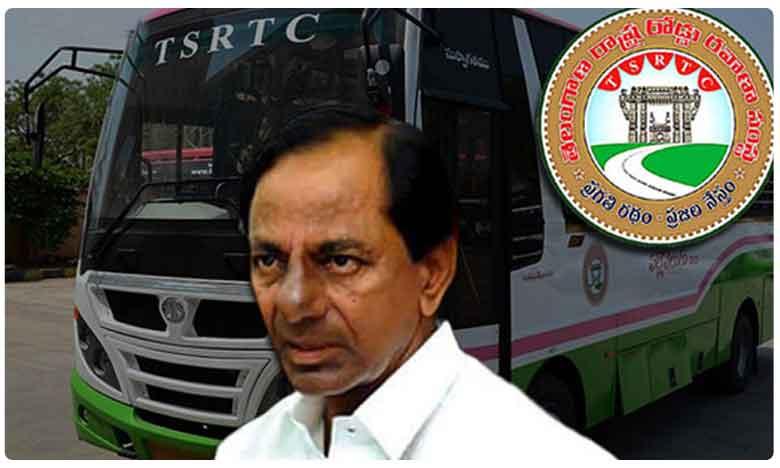 "Telangana: Bus Strike Continues For Third Day, ఆర్టీసీ సమ్మె పై కేసీఆర్ ఉక్కుపాదం.. మరో మలుపు తిరుగుతున్న ""రాజకీయం"""