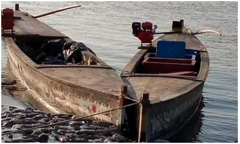 BSF Seizes Five Pak Boats Near India-Pakistan Border In Gujarat, తీరంలో పాక్ పడవల కలకలం..!