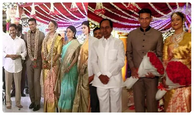 Medak SP Chandana Deepthi wedding, ఘనంగా మెదక్ ఎస్పీ వివాహం.. హాజరైన కేసీఆర్, జగన్