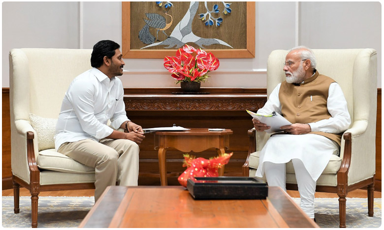 jagan met primeminister modi, ప్రధానితో సుదీర్ఘ భేటీ.. జగన్ ఆహ్వానంపై మోదీ ఏమన్నారంటే..?