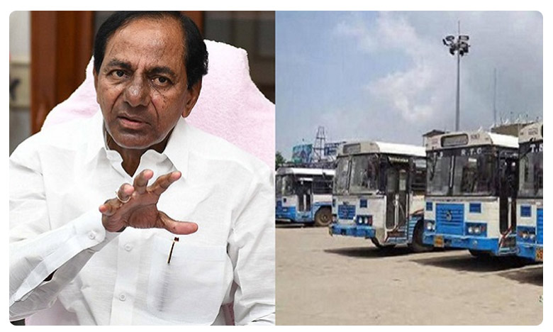 CM KCR meeting with Transport minister and officials, ఆర్టీసీని నష్టపరిచారు.. వారిని క్షమించేది లేదు: సీఎం కేసీఆర్