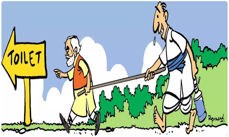 swachha bharath open defacation narendra modi big task, చేయాల్సిందెంతో వుంది మోదీ జీ.. !!