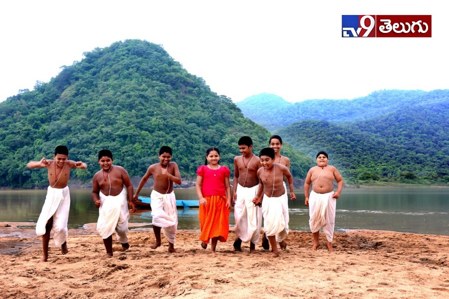 Paramandayya sishuyala kattha 3d working stills, పరమానందయ్య శిష్యుల కథ 3డి స్టిల్స్