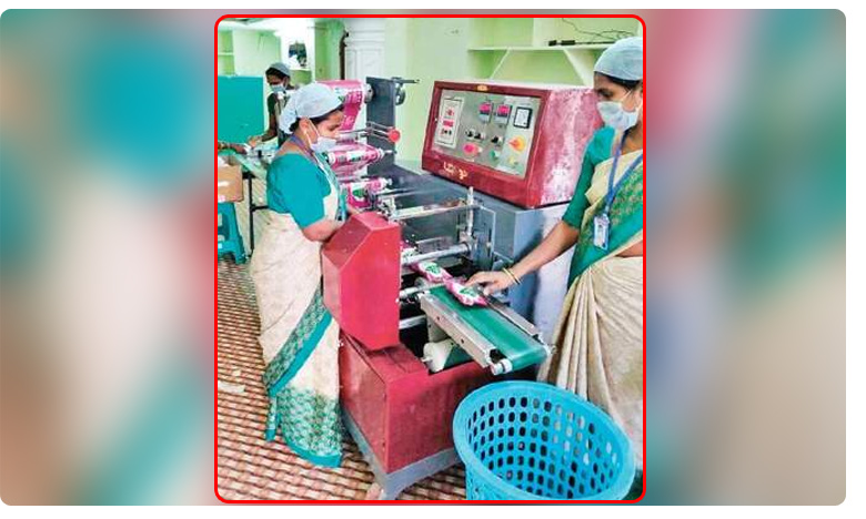 Peddapalli district administration targets another milestone: Sanitary napkins to every woman in district