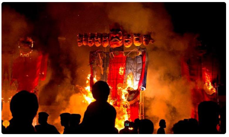 Train runs into crowd at Ravana burning in Amritsar one year back