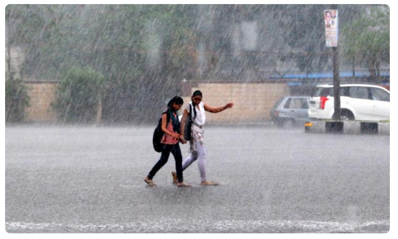 Heavy rains and thunderstorms next five days in Telangana monsoon 2019, ఏపీ, తెలంగాణల్లో మరో మూడు రోజులపాటు వర్షాలు