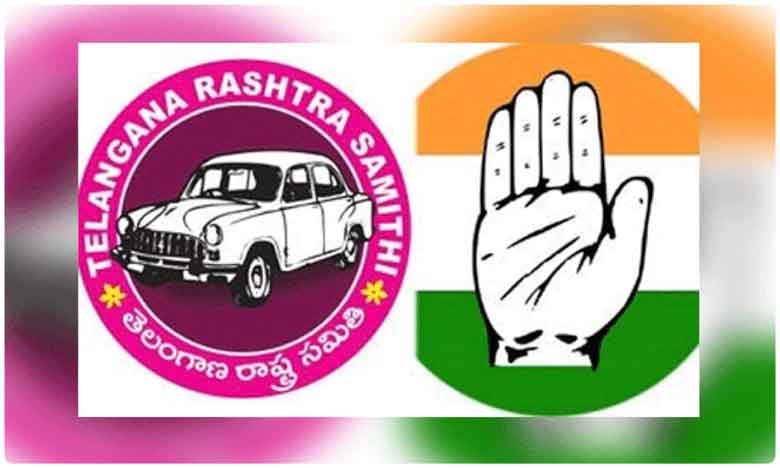 Uttam Kumar Reddy Padmavathi Reddy in Encounter with Murali Krishna, గులాబీ నేతలే మాకు జై కొడుతున్నారు.. కాంగ్రెస్ నేత ఖతార్నాక్ కామెంట్..!