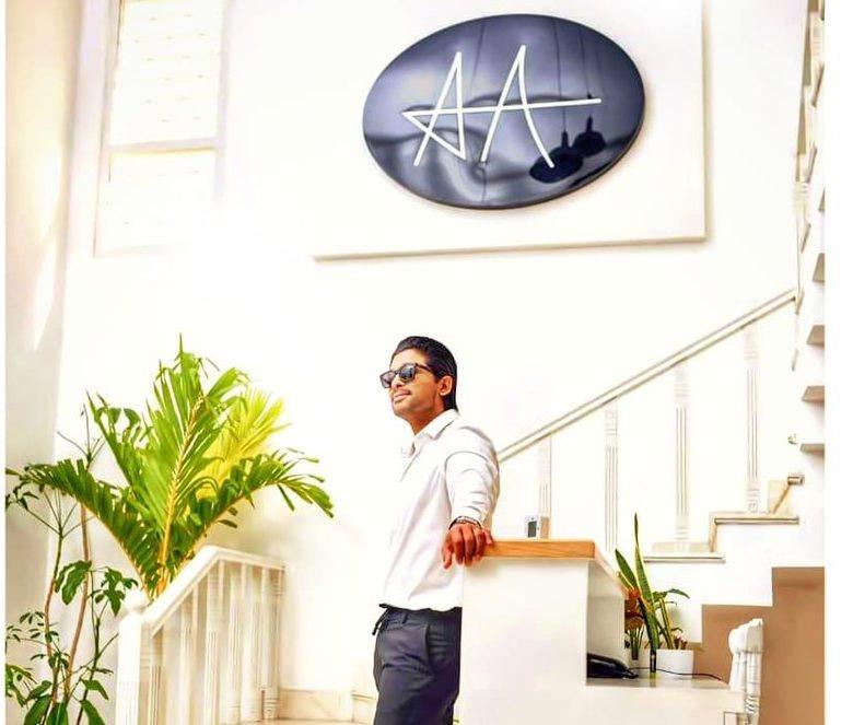 Allu Arjun moved out of Geetha Arts Office, అల్లు అర్జున్ ఆఫీసు అదుర్స్.. హైలైట్ ఏంటంటే?