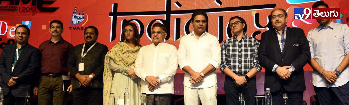 Minister K.T.Rama Rao launches Indiajoy 2019 At; HICC Madhapur, ఇండియా జాయ్ కార్యక్రమం ప్రారంభోత్సవంలో మంత్రి కేటీఆర్