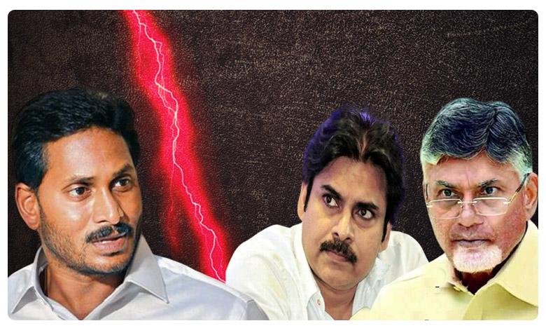 ap politics hot hot, జగన్, పవన్.. మధ్యలో బాబు.. హాట్ హాట్గా పొలిటికల్ ఫైట్