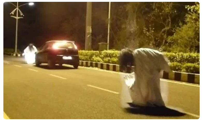 Police arrests seven after they dress up as ghosts and scare people, ప్రాంక్ వీడియోల పేరుతో హంగామా..బెండు తీసిన పోలీసులు