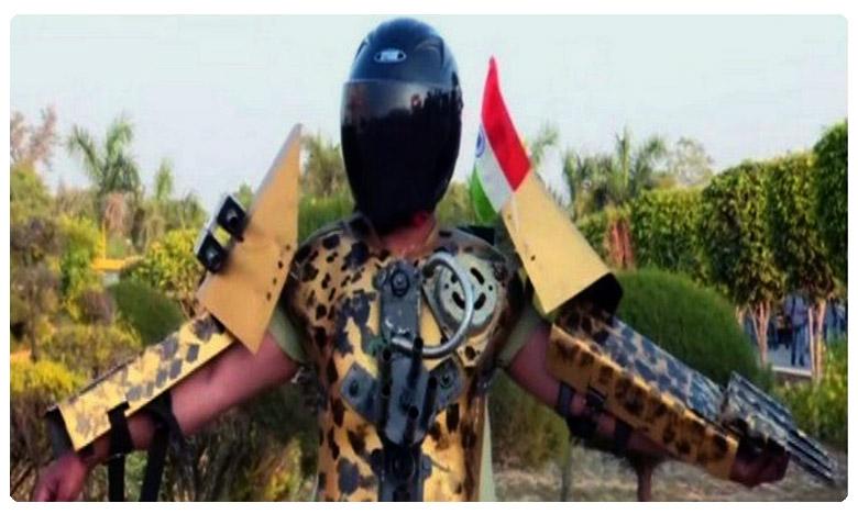Varanasi resident creates Iron Man suit 'prototype' to help soldiers, ఆర్మీ ఇక బేఫికర్ ! సరికొత్త సూట్ వచ్ఛేసింది