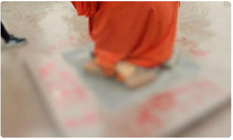 Swami Vivekananda statue defaced at JNU campus, జేఎన్యూ సాక్షిగా.. వివేకానందుడికి ఘోర అవమానం..