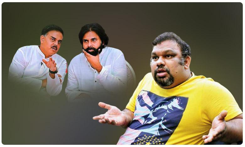 Kathi Mahesh counter to Pawan Kalyan and Nadendla Manohar, మీవి రాజకీయ విమర్శలు.. మావి వ్యక్తిగత విమర్శలా..? 'కత్తి' కౌంటర్