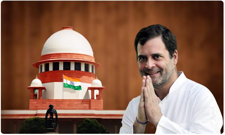 Supreme Court accepts Rahul Gandhi apology, బ్రేకింగ్: రాహుల్కు సుప్రీం 'బిగ్' రిలీఫ్