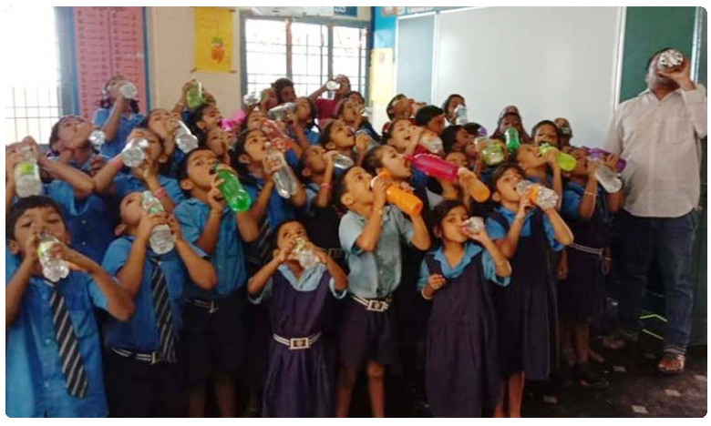 Water Bell campaign to benefit children to drink, 'వాటర్ బెల్' క్యాంపెయిన్.. ఎందుకు అవసరం..?