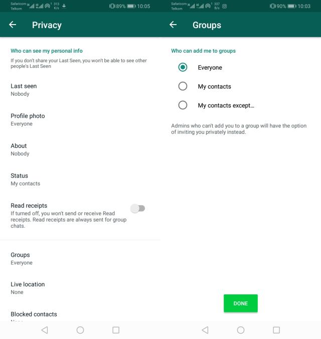 Whatsapp Updated Group Privacy Settings, వాట్సాప్ న్యూ ఫీచర్… ఇకపై గ్రూపుల బెడద లేనట్లే.?