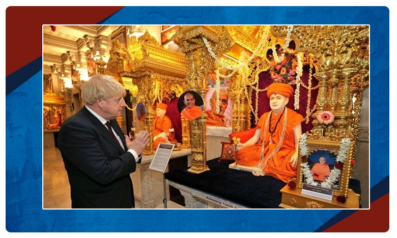 Boris Johnson Pledges Support To PM Modi, ఎలక్షన్ టైమ్..బోరిస్ ఎన్నారై ఆకర్ష్