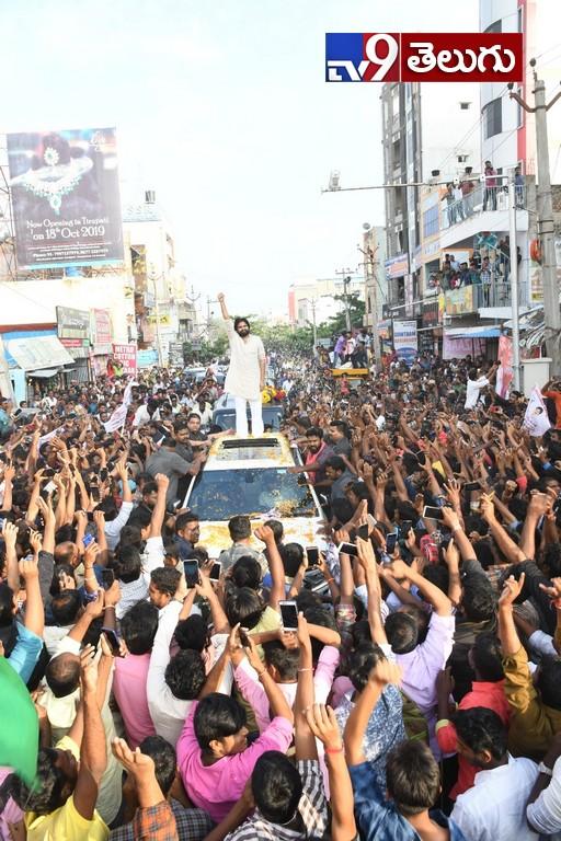 Pavan Kalyan Meeting in Rayala Seema Tour, మదనపల్లిలో పవన్కల్యాణ్ పర్యటన