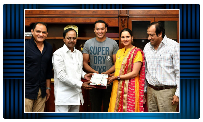 Telangana Cheif Minister KCR, సానియా సోదరి వివాహం..సీఎం కేసీఆర్కు ఆహ్వానం