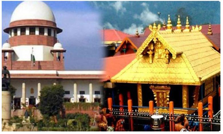 Sabarimala verdict not the 'final word'.. larger bench will review it.. says SC on activist's plea, శబరిమలలో మహిళల ప్రవేశంపై.. సుప్రీం ఆసక్తికర వ్యాఖ్యలు..