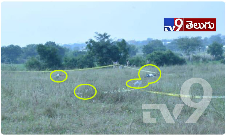 Disha murder case: All four accused killed in 'encounter', ఎన్కౌంటర్ స్పాట్ నుంచి నిందితుల ఫోటోలు..టీవీ9 ఎక్స్క్లూజీవ్..