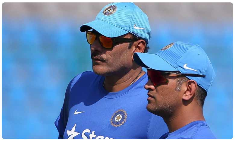 Shastri reiterates that Dhoni is in reckoning for WC berth, ఐపీఎల్లో బాగా ఆడితేనే.. శాస్త్రి