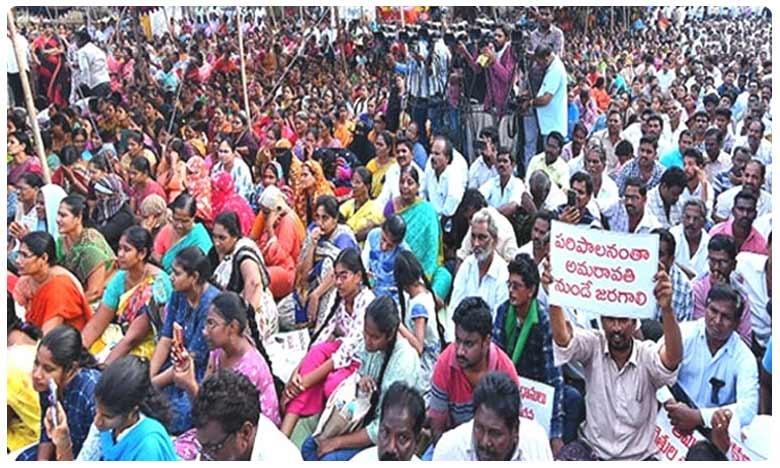 "TDP leaders fire at KCR, says Amaravati movement is not RTC strike to suppress, ""ఇది ఆర్టీసీ ఉద్యమం కాదు, ఆత్మగౌరవ ఉద్యమం"": నక్కా ఆనంద్బాబు"