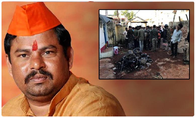 Goshamahal MLA Raja Singh house arrest in Hyderabad, భైంసా ఎఫెక్ట్.. ఎమ్మెల్యే రాజాసింగ్ హౌస్ అరెస్ట్..