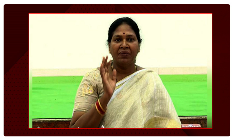 pothula sunitha comments on chandrababu, చంద్రబాబు స్వార్థం వల్లే కౌన్సిల్ రద్దు