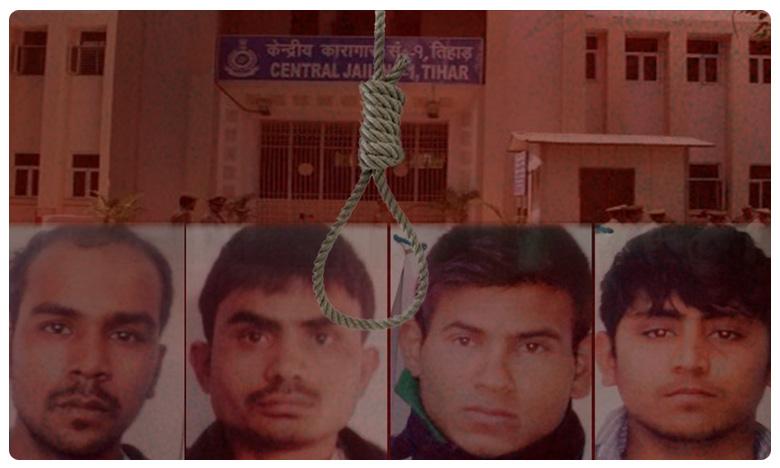 Nirbhaya rape and murder convicts is also normal the sources said, అదిగో ఉరికంబం ! నిర్భయ దోషుల్లో టెన్షన్.. టెన్షన్