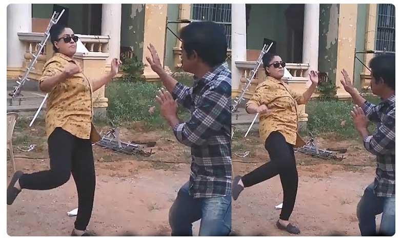 Vijayashanthi Mind Blowing Master Kick After 13 Years, అదే గ్రేస్, అదే మాస్..రాములమ్మ కిక్ చూశారా..?