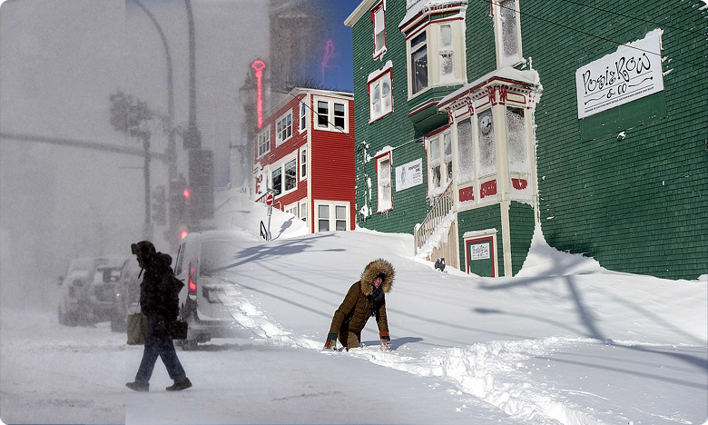 winterstorm in us canada, యుఎస్, కెనడాలను కప్పేసిన మంచు తుపాను