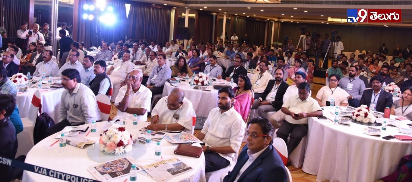 AP CM jagan Mohan Reddy, ఎడ్యుకేషన్ సదస్సులో 'సీఎం వైఎస్ జగన్'