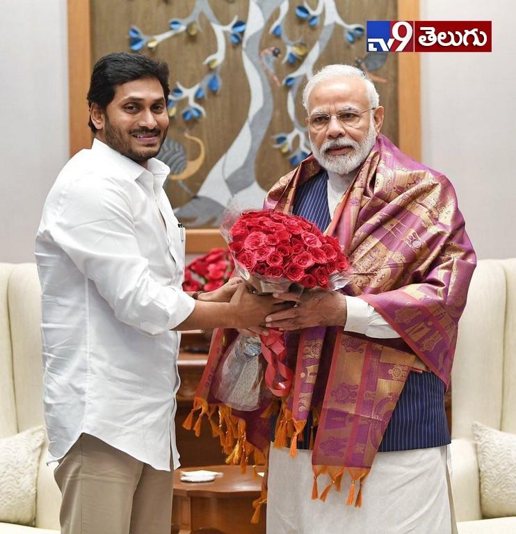 CM Jagan Meets PM Modi, ప్రధాని మోదీతో   సీఎం వైఎస్ జగన్ భేటీ.