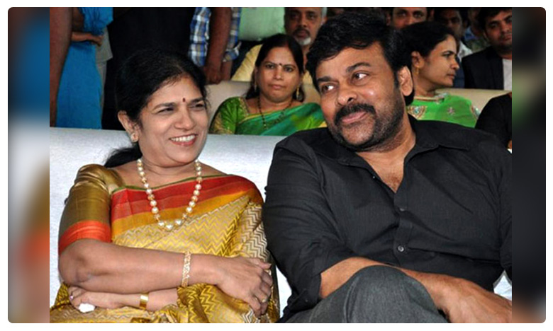 Megastar marriage with Surekha, మెగాస్టార్ పెళ్లికి ఆ హీరోయినే కారణమట..!