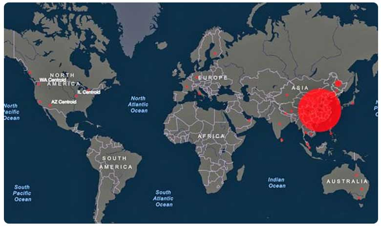 Experts worry about the spread of coronavirus in India, కరోనా వైరస్ ముప్పు.. భారత్కు 17వ స్థానం..!