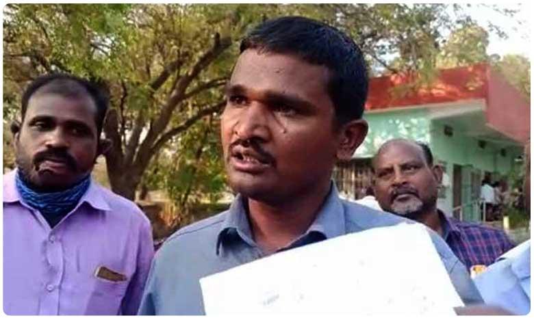 Crime, Crime: ఎమ్మార్వో ఆఫీస్ ముందు పెట్రోల్ బాటిల్తో వ్యక్తి హల్చల్
