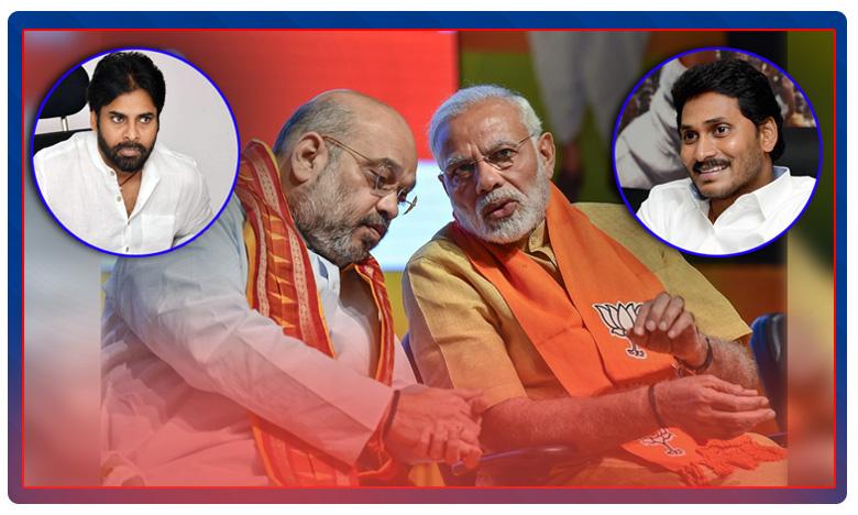 bjp double game in andhra, BJP Double Game: వైసీపీ, జనసేనలతో బీజేపీ డబుల్ గేమ్